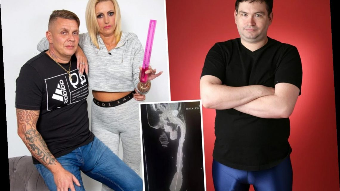 Blokes with huge penises share problems from bother in the bedroom to causing bulge-based security scares