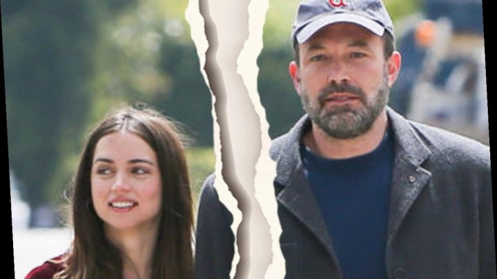 Ben Affleck and girlfriend Ana de Armas headed for a 'split' after getting into 'huge fights' since living together