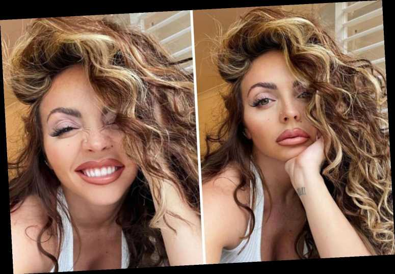 Jesy Nelson admits she's 'bored' as she shares smouldering selfies one month after quitting Little Mix