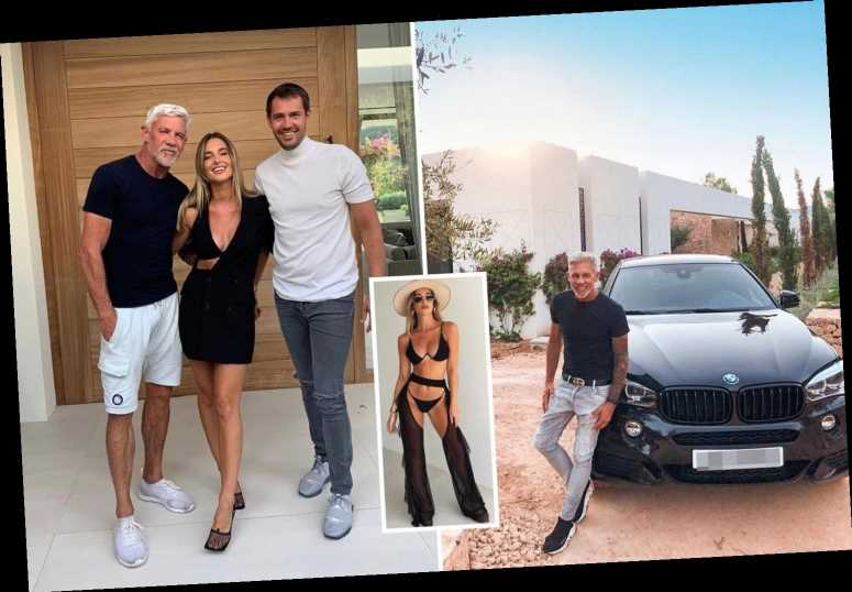 Inside Wayne Lineker's glamorous life at home with three sons Duane, Sean, Freddie and model daughter Tia