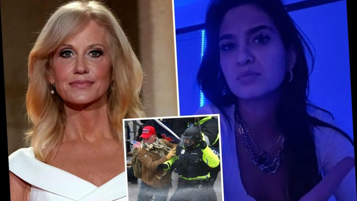 Claudia Conway slams mom Kellyanne and her pro-Trump 'army' for D.C riots in TikTok vid