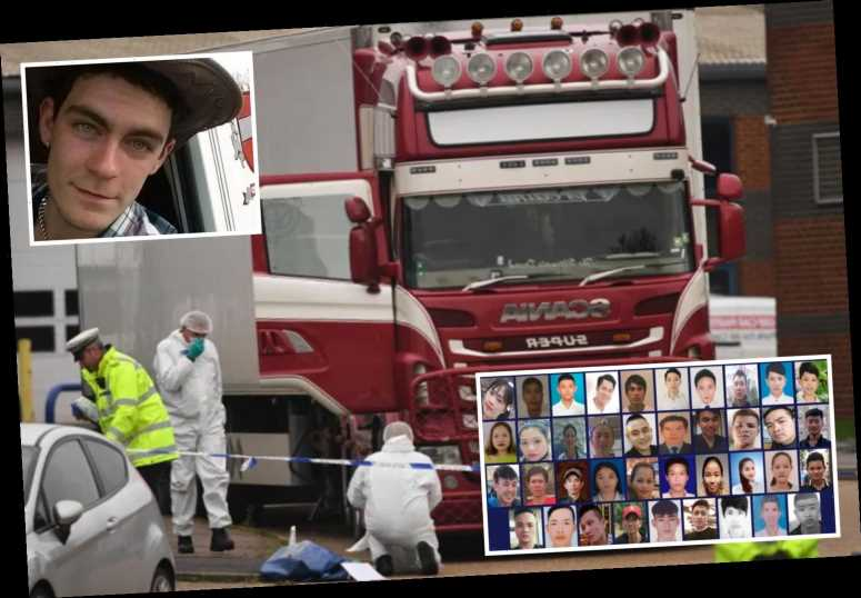 Heartbreaking final moments of 39 migrants crying for help & gasping for air before they died in lorry played to court