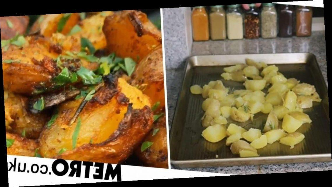 TikTok shows how to make insanely crispy spiced roast potatoes