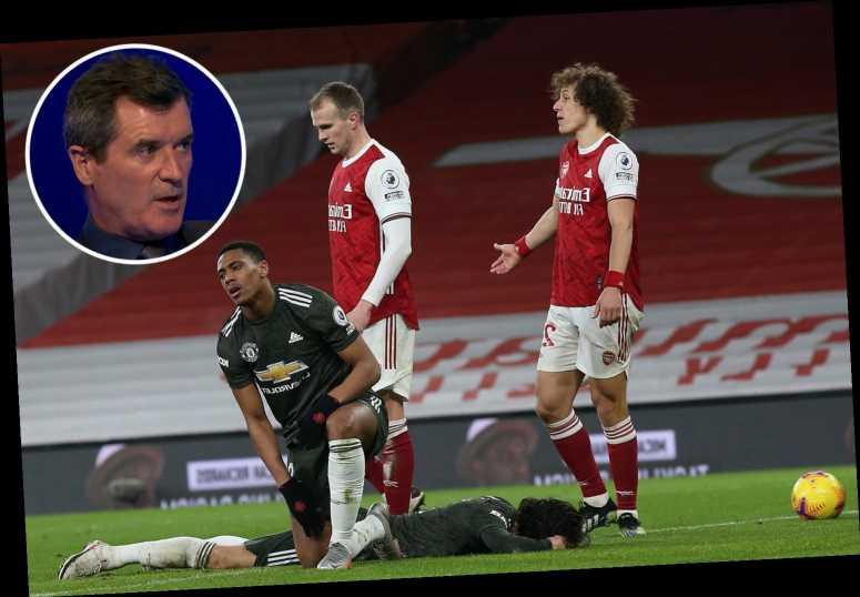 Man Utd lacked 'belief and desire' to beat Arsenal despite facing under-strength Gunners, blasts Roy Keane