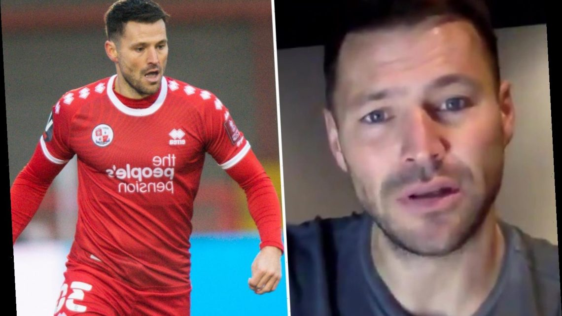 Mark Wright broke down in tears over Spurs axe but hopes to score dream goal vs Arsenal to taunt GMB host Piers Morgan