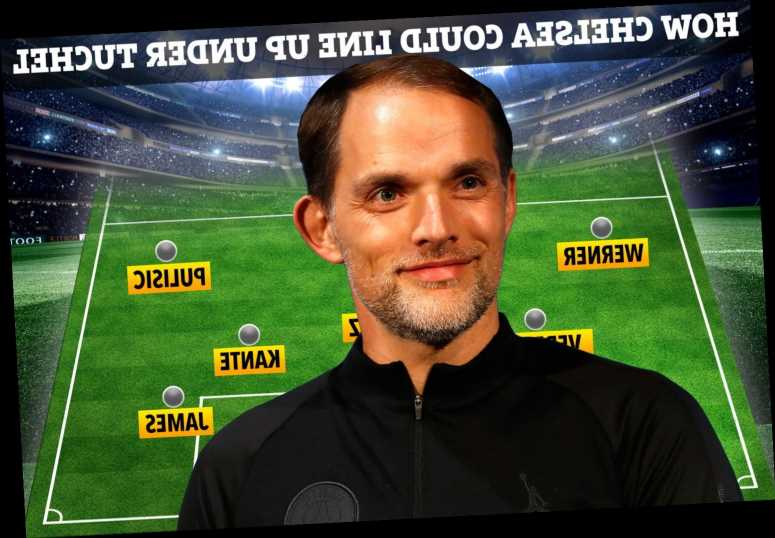 How Chelsea could line up under Thomas Tuchel with Haaland and Upamecano as ex-PSG boss is lined up to replace Lampard