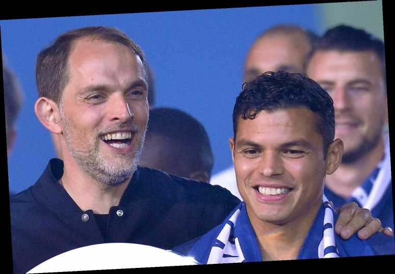 Thiago Silva in for awkward Chelsea reunion with Tuchel after calling ex-PSG manager's sacking 'predictable'