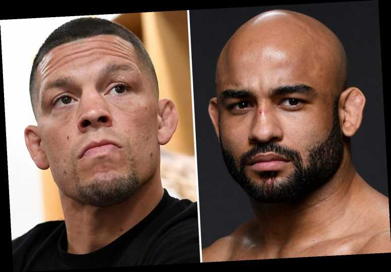 Nate Diaz called out by Warelly Alves, who slams fan favourite for smoking weed in shock UFC Fight Island call out