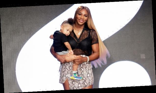 Serena Williams' Daughter Olympia, 3, Laughs As She Watches Shakira Dance With Her Doll Qai Qai