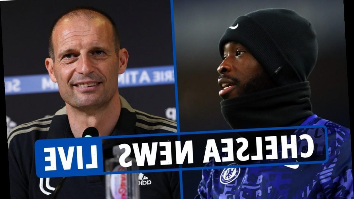 9.15am Chelsea transfer news LIVE: Tomori to AC Milan 'on Monday', Tuchel and Allegri 'contacted for manager's job'