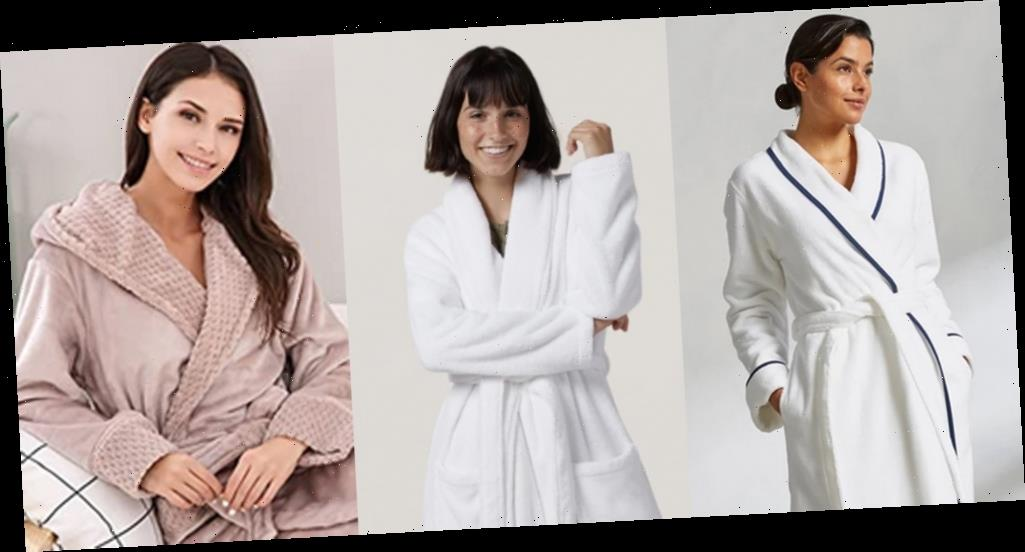 Comfy Robes to Relax in While Social Distancing at Home
