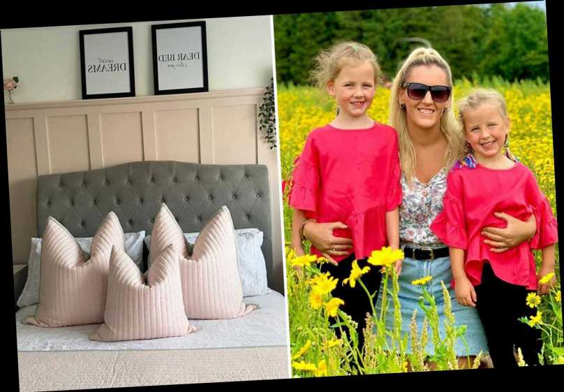 Furloughed mum reveals how she set up a thriving home design business after a pic of her £50 room makeover went viral