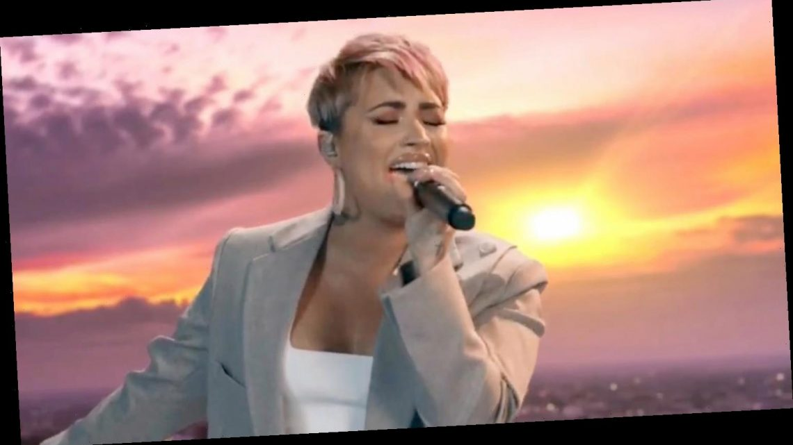 Demi Lovato Covers 'Lovely Day' For 'Celebrate America' Event – Watch Now!