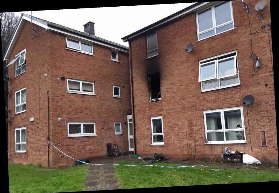 Baby thrown from upstairs window after 'arson attack' leaves residents trapped inside
