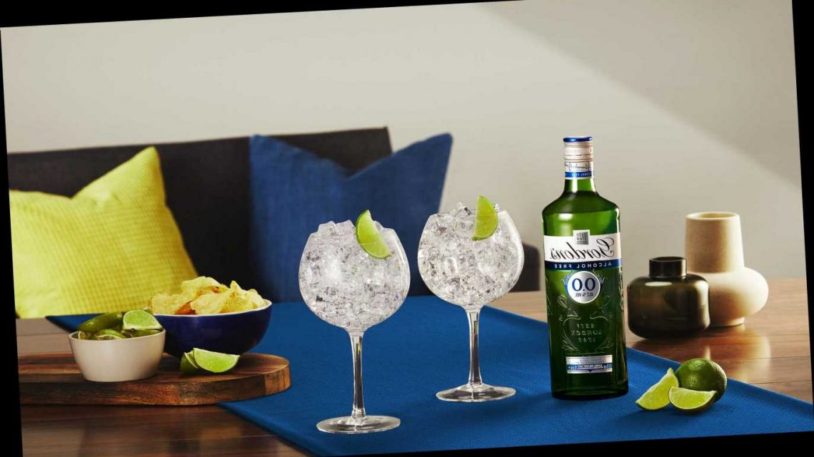 Gordons launch new 0.0% Gin and it's perfect for Dry January