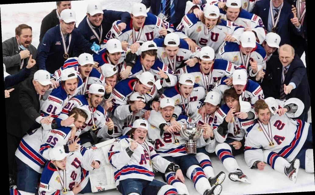 Team USA Faces Backlash for Posing with Canada 'Barrel' After World Junior Hockey Championship Win