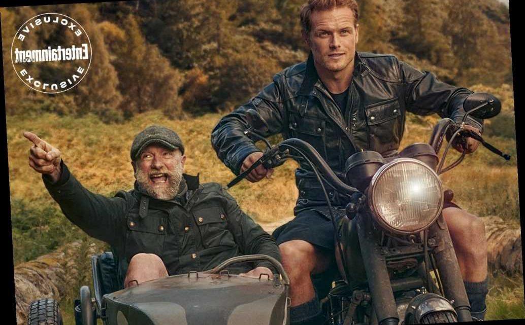 Outlander Stars Sam Heughan and Graham McTavish Go Pantless in First Full Men in Kilts Trailer