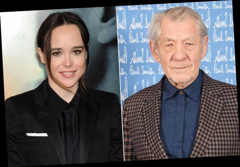 Ian McKellen Says He's 'So Happy' for X-Men Costar Elliot Page for Coming Out as Transgender