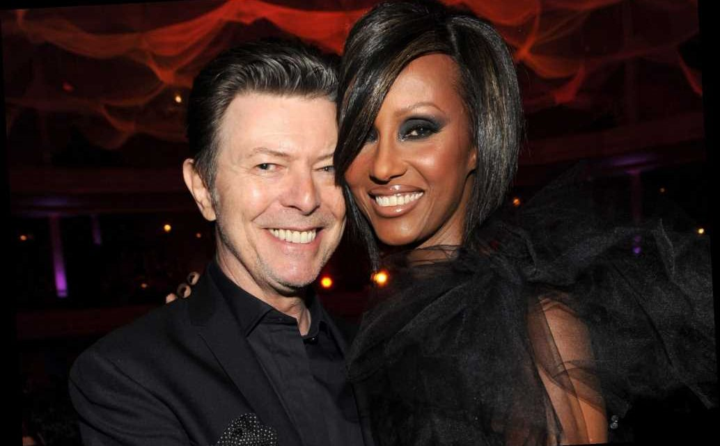 Iman calls David Bowie her 'eternal love' on anniversary of his death
