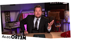 James Corden brands Trump a 'lunatic' who 'hijacked' America