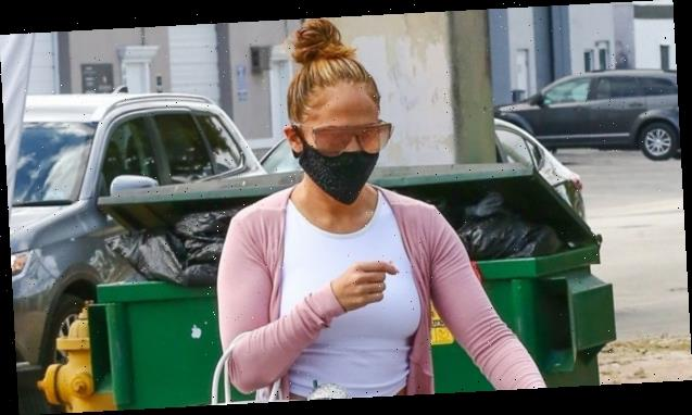 Jennifer Lopez Wears Leggings & $18K Birkin To Gym After Celebrating 'J.Lo' Album Anniversary