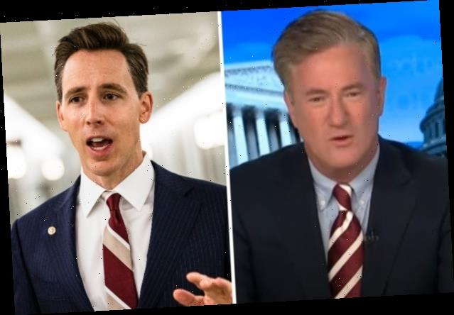 'Morning Joe' Shreds 'Dumbest Guy in the Senate' Josh Hawley