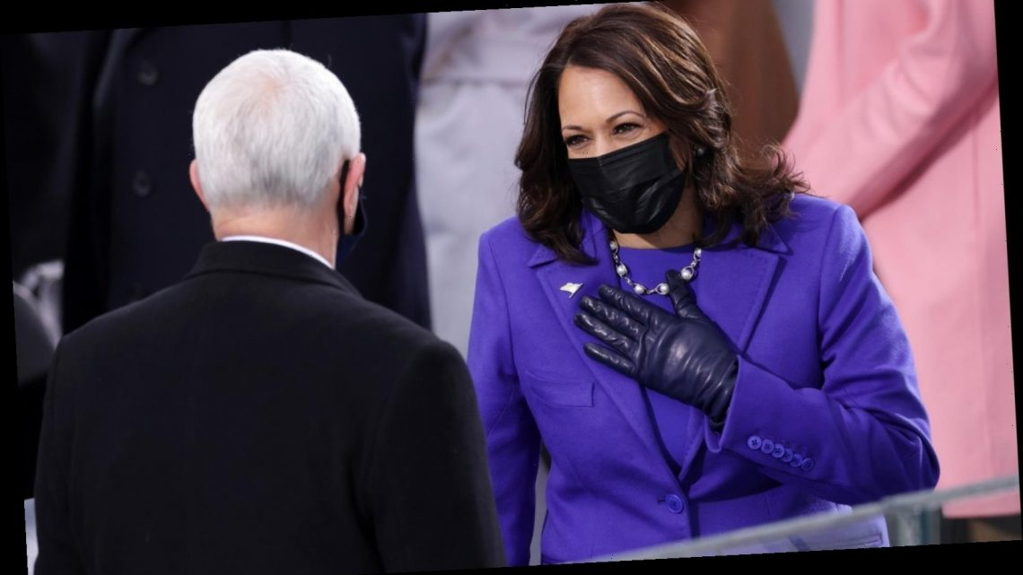 The Real Reason Kamala Harris Wore Purple For Inauguration Day