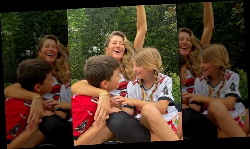Gisele Bündchen Shares Sweet Family Photo After Tom Brady's Big Win