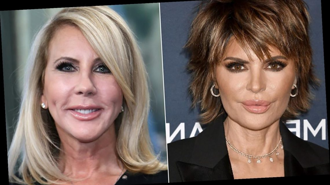 Why Lisa Rinna And Vicki Gunvalson Are Feuding