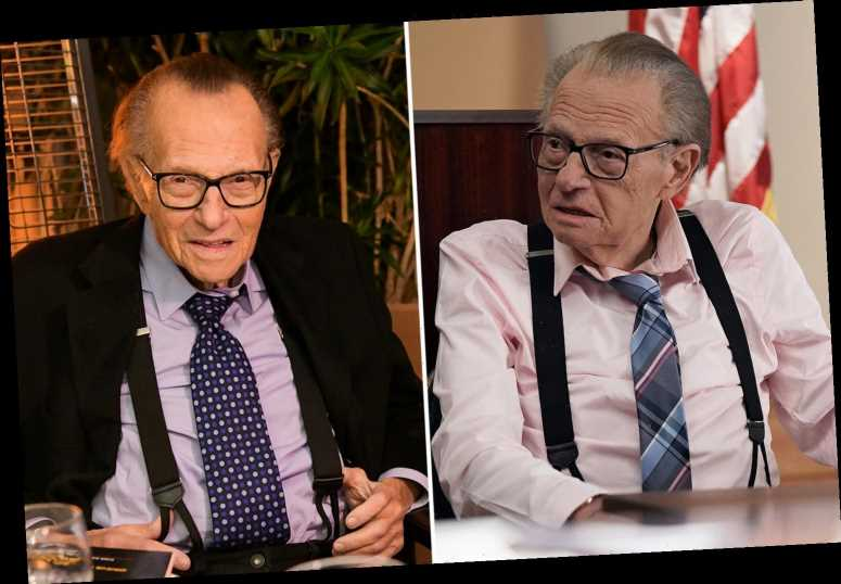 Larry King hospitalized with Covid as ailing 87-year-old talk show legend's family 'rushes to his side'