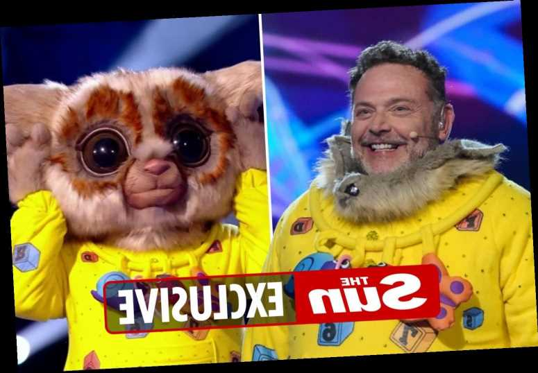 John Thomson had to wear ice packs on his wrists while performing as Bush Baby on The Masked Singer