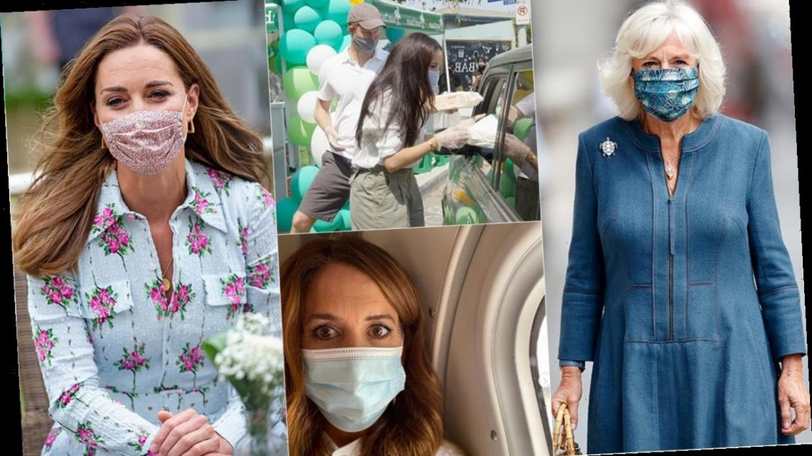 28 times the royals wore face masks for their public engagements