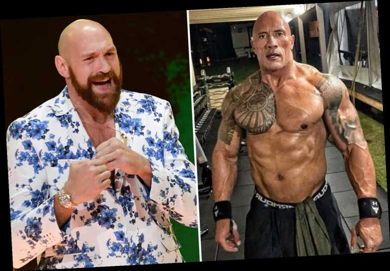 Tyson Fury amazed by Dwayne 'The Rock' Johnson's 'ripped' body at 48 as he pays 'respect' to WWE legend