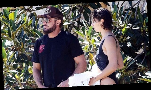 Zac Efron Hits The Beach In Sydney With Swimsuit-Sporting GF Vanessa Valladares For Sunny Date Out