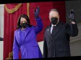 Kamala Harris, Hillary Clinton, Michelle Obama wear purple at Biden inauguration