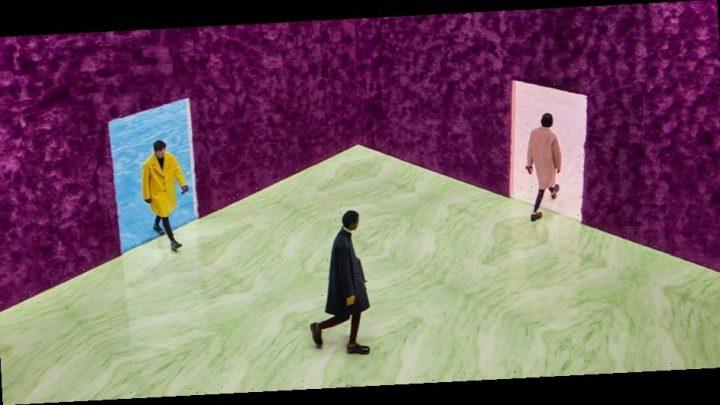 Raf Simons Takes the Reins for Debut Prada Menswear Collection