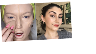 I Tried 3 (Slightly Intimidating) TikTok Foundation Hacks — and This One Was the Best
