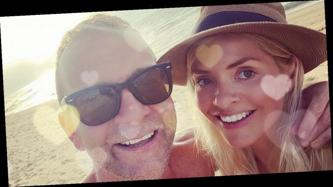 Holly Willoughby wows in bikini as she posts rare loved-up snap with Dan Baldwin
