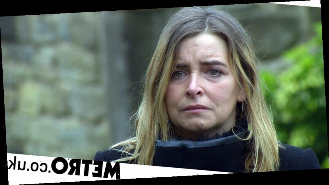 Emma Atkins is unsure where Emmerdale can take Charity as she falls further