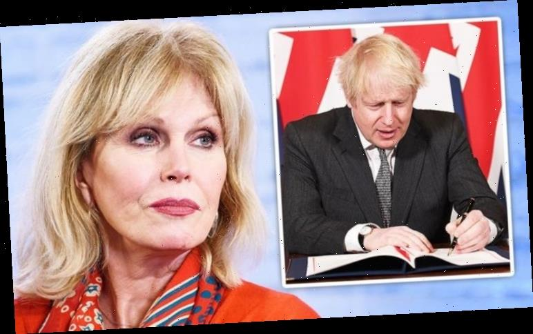 Joanna Lumley's brutal Brexit summary of meddling EU: 'Easier for hung jury to agree'