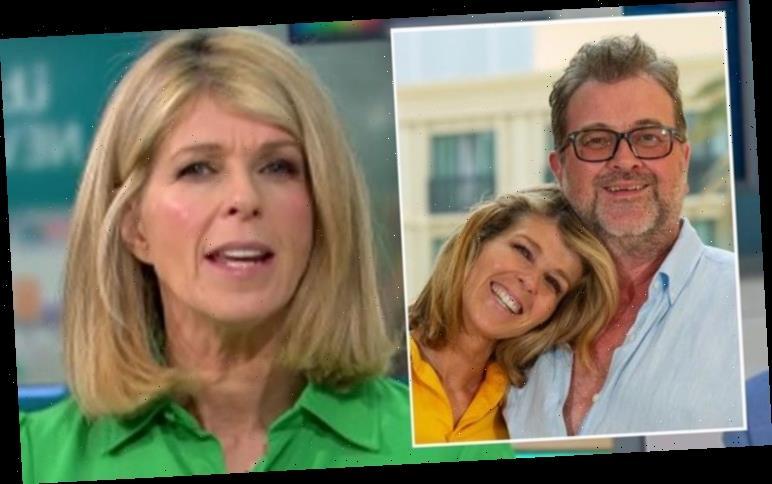 Kate Garraway admits she's 'not sleeping' as husband Derek remains in hospital