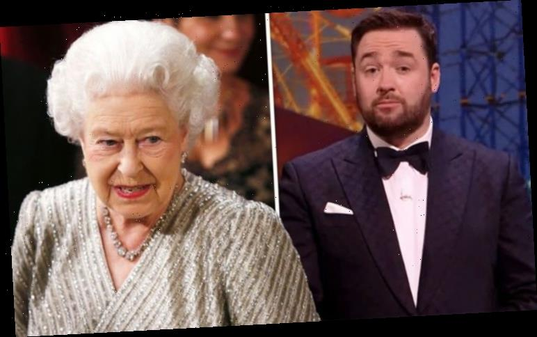Queen impresses comedian Jason Manford with her 'amazing memory' and stand-up remarks