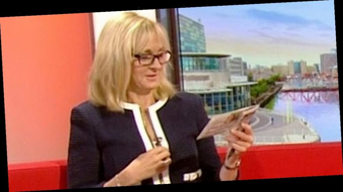 BBC Breakfast's Louise Minchin opens up about live TV stress and mental health