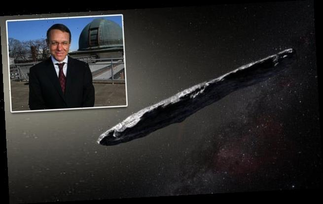 Harvard astronomer argues that alien vessel paid us a visit in 2017