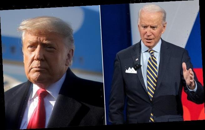 'I'm tired of talking about Donald Trump,' Joe Biden says