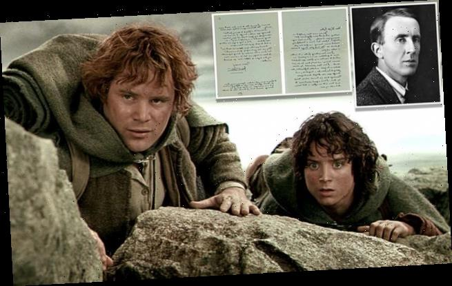 JRR Tolkien letter on what a hobbit looks like set to sell for £15,000