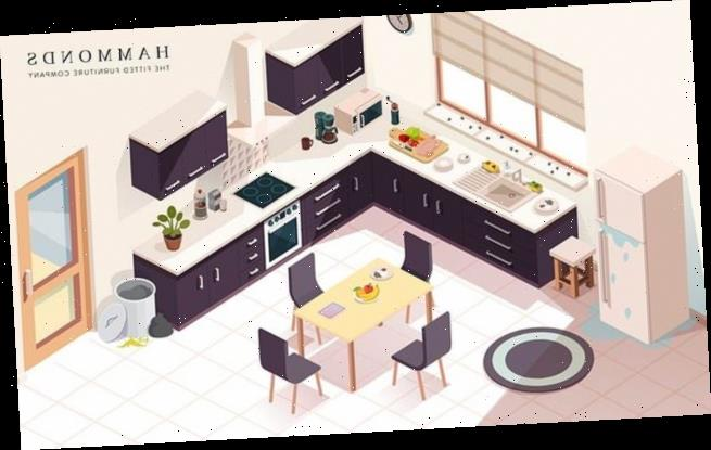 Brainteaser challenges homeowners to spot seven hazards in the kitchen
