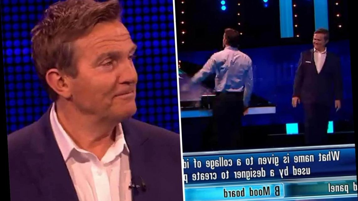 The Chase's Bradley Walsh walks off set after warning contestant on Celebrity Special