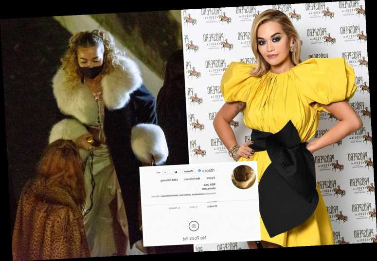 Rita Ora finally deletes post about 'doing nothing' on her birthday as she wipes entire Instagram feed