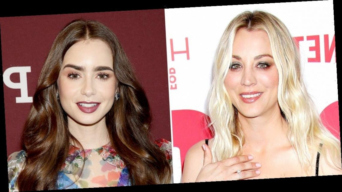 Kaley Cuoco, Lily Collins and More Golden Globes 2021 Nominees React